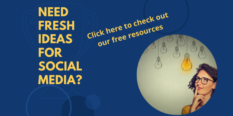 Check out our free social media resources