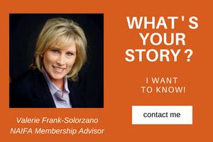 Valerie Frank-Solorzano is NAIFA's Membership Advisor