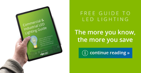 Free guide to commercial and industrial LED lighting installations