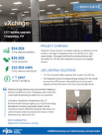 Case study of data center efficiency project