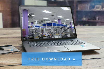 Free manufacturing facility LED lighting and energy efficiency project case study download