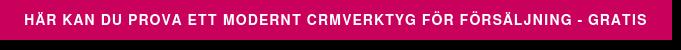 Här kan du prova ett modernt CRMverktyg för försäljning - gratis