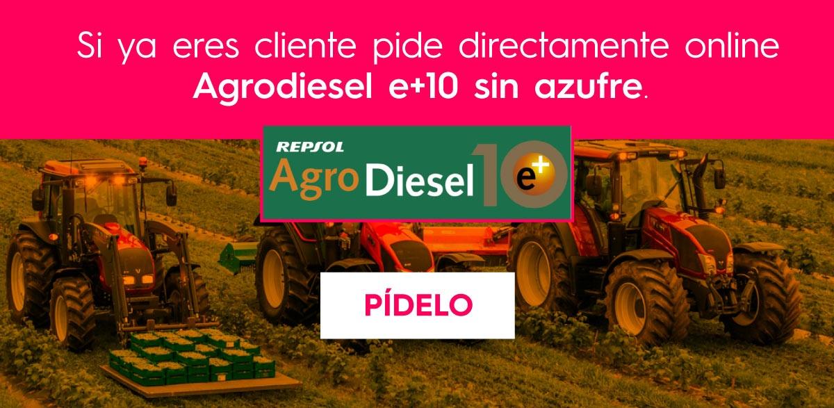 Pedir Repsol Agrodiesel E+10 sin azufre