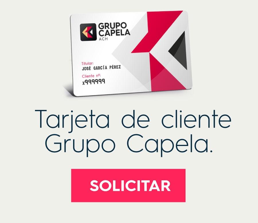 Solicita tu Tarjeta de Cliente Grupo Capela