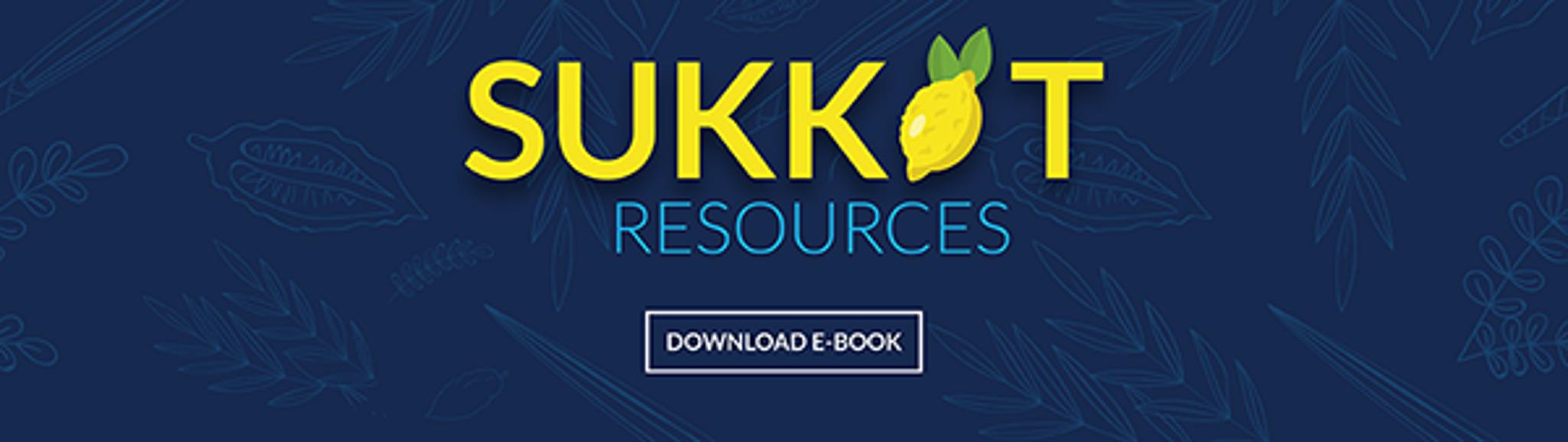 Sukkot Resources