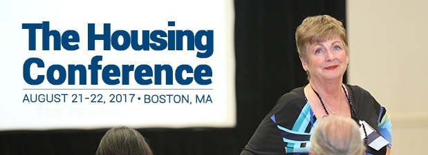 The Housing Conference | August 21-22, 2017 | Boston, MA