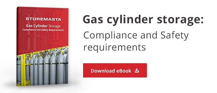 gas cylinder storage: Compliance and safety requirements