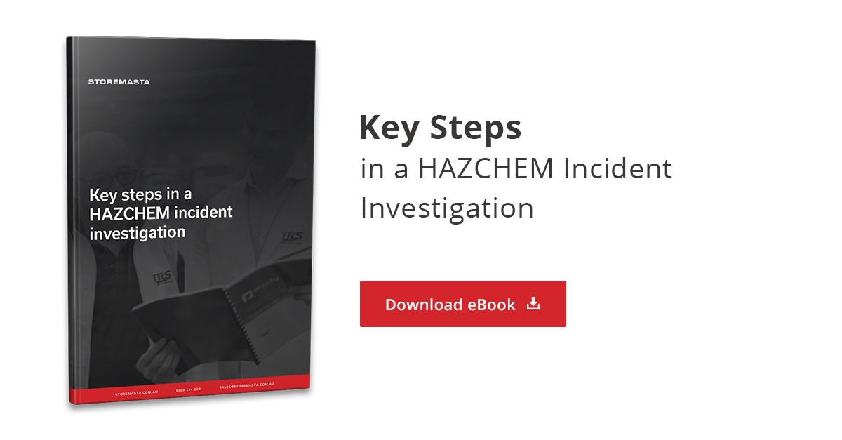 Key Steps in a HAZCHEM Incident Investigation