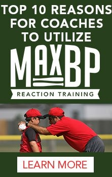 Top 10 reasons for coaches to utilize MaxBP reaction training machine