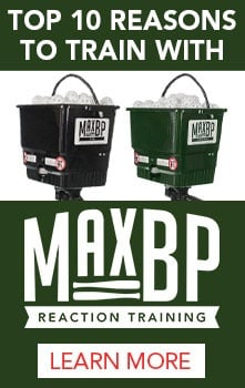 Top 10 reasons to train with MaxBP Reaction Training machines