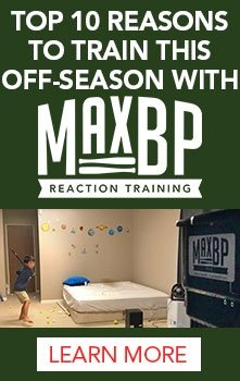 Top 10 reasons to train this off-season with MaxBP