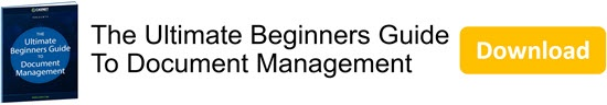 The Ultimate Beginners Guide To Document Management eBook