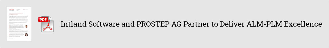909bb425-ed11-4f7c-8cdb-98737f328a12 Intland Software and PROSTEP AG Partner to Deliver ALM-PLM Excellence PR