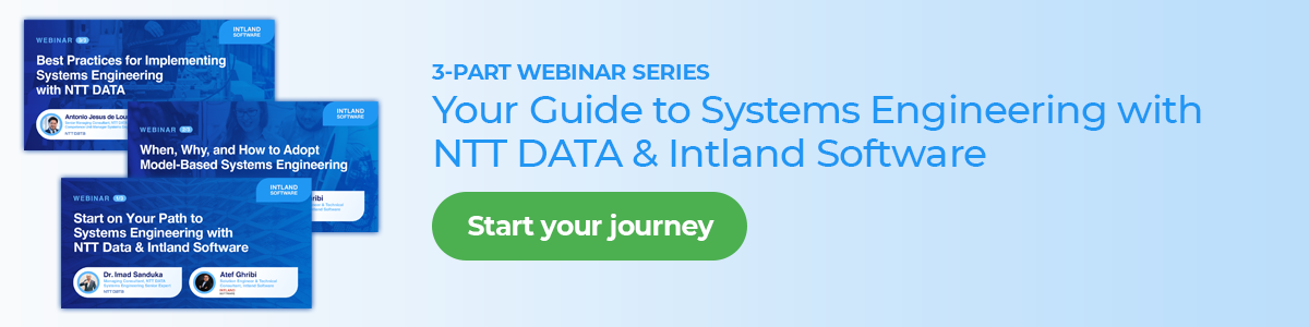 Your Guide to Systems Engineering with NTT DATA and Intland Software