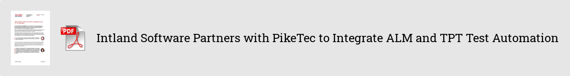 c54ed1b5-ae35-4a28-9b3c-369664bc56d7 Intland Software Partners with PikeTec to Integrate ALM and TPT Test Automation pr