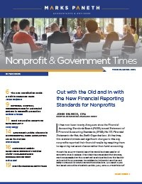 Nonprofit & Government Times Q3 2018