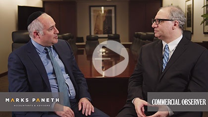 Commercial Observer interviews Co-Partner-in-Charge of Real Estate Abe Schlisselfeld