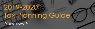 2019-2020 Tax Planning Guide