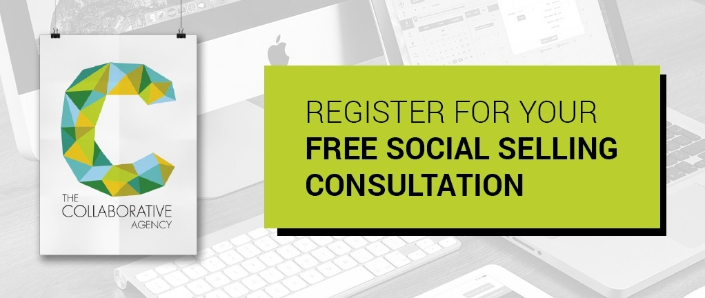 Free social selling consultation CTA