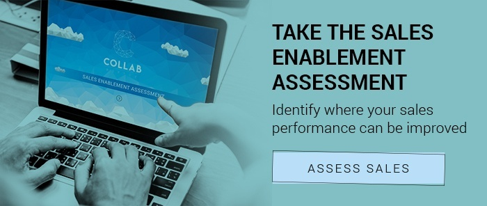 Take sales enablement assessment CTA