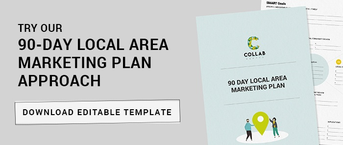 90 day local area marketing plan editable template