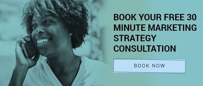 register interest for a free marketing strategy consultation CTA