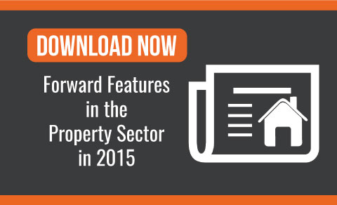 Forward features for the property sector in 2015