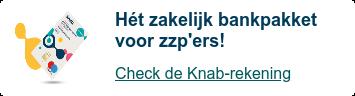 De voordeligste zakelijke rekening van Nederland!  Check de Knab-rekening