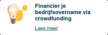 Financier discreet je bedrijfsovername via Knab Crowdfunding  Lees meer