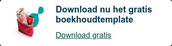 Download nu het gratis boekhoudtemplate  Download gratis