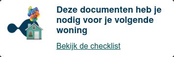 checklist documenten volgende woning