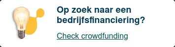 Op zoek naar een bedrijfsfinanciering?  Check Knab Crowdfunding