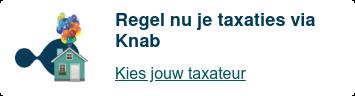 Regel nu je taxaties via Knab  Kies jouw taxateur