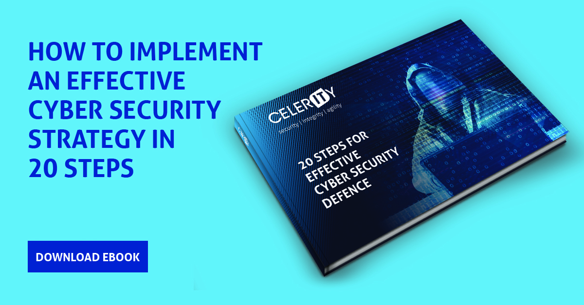 20 steps for effective cyber security defence