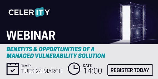 Webinar Registration: Benefits & Opportunities of a managed vulnerability solution