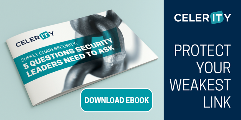 Minimising risk of supply chain attacks eBook - Celerity Limited