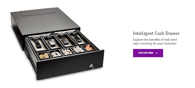 Tellermate LiveDrawer Intelligent Cash Drawer