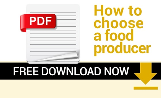 How to choose a food producer