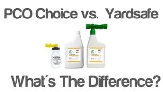 pco choice vs. yardsafe