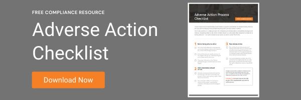 Adverse Action Checklist