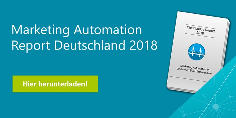Marketing Automation Report Deutschland 2018