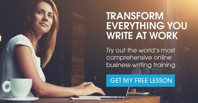 Get your free business-writing lesson
