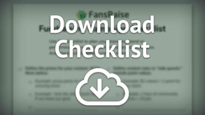 Download the checklist ↓