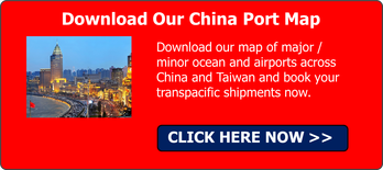 China Port Map
