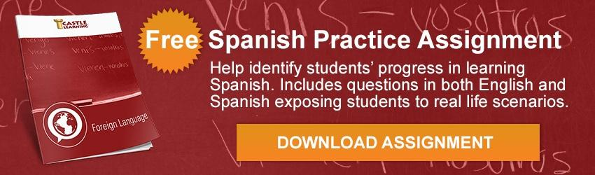 Spanish language practice assignment