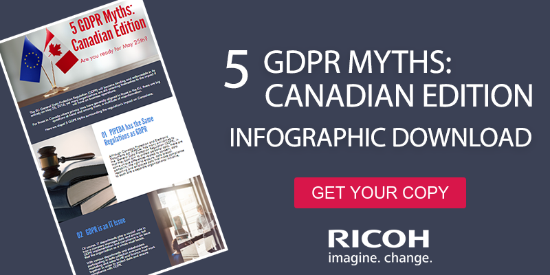 5 GDPR Myths: Canadian Edition