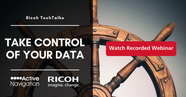 Ricoh TechTalks Active Navigation Webinar
