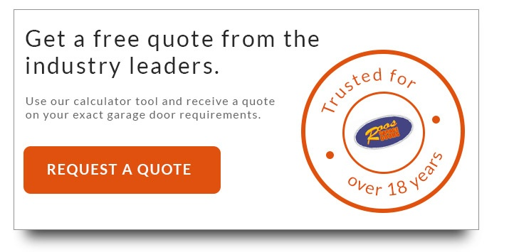 Request a free quote - garage doors pricing