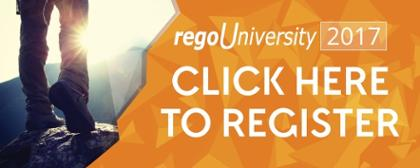 Register for regoUniversity