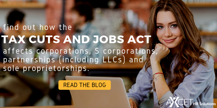How the Tax Cuts and Jobs Act affects businesses
